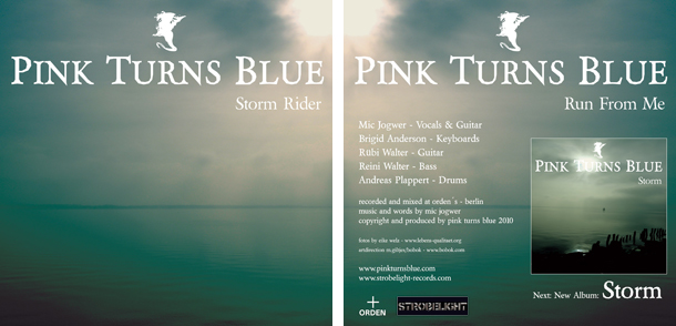 Pink Turns blue - 7-inch Vinyl-Single Storm Rider