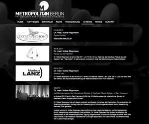 metropolitan berlin - relaunch
