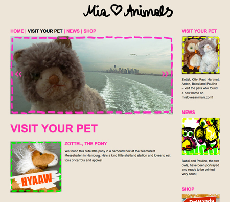 mia loves animals